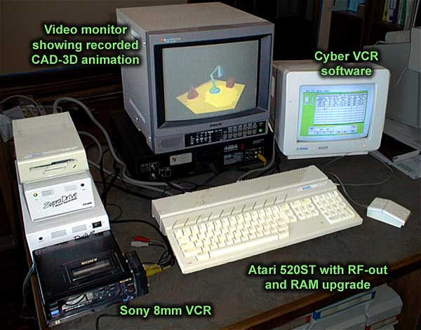 The antic cyber graphics software cyber vcr as cyber studio was coming together gary yost had been experimenting with assembling seq files to a standard vhs vcr and had discovered how unsatisfactory publicscrutiny