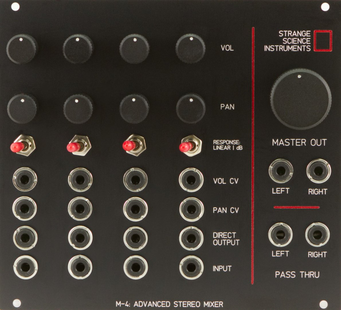 Eurorack Stereo Mixer Module Comparison Modular Audio With Multiple Input Channels Grid