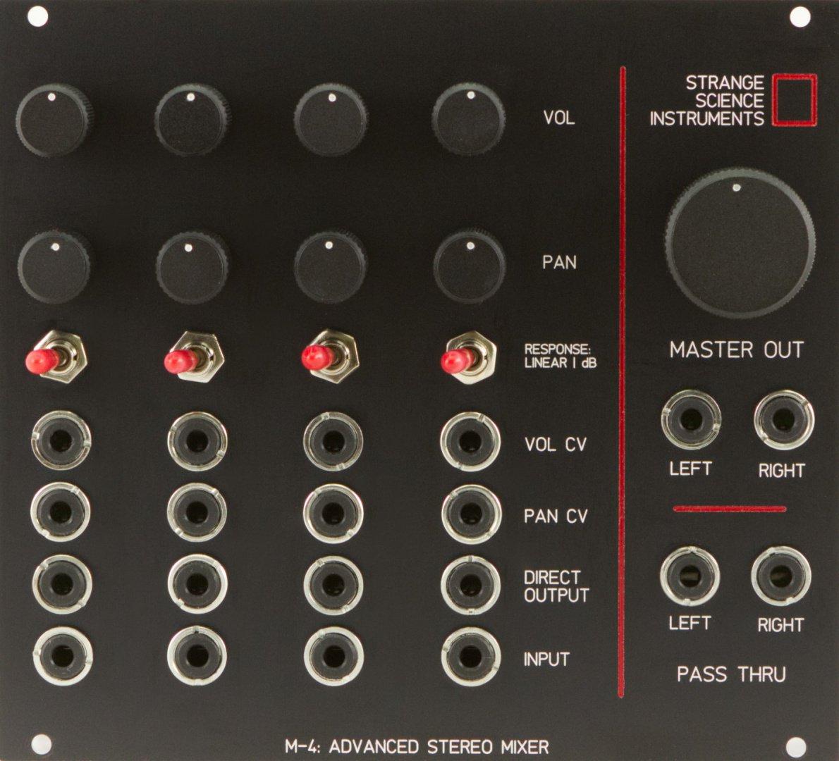 Eurorack Stereo Mixer Module Comparison